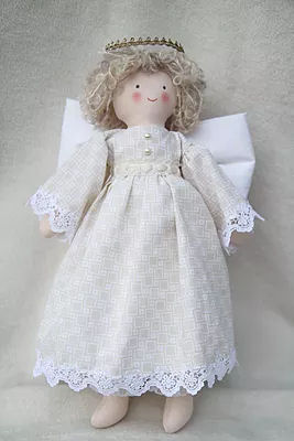 "14"" Angel Cloth Doll Sewing Pattern - Cloth Doll Making Pattern"