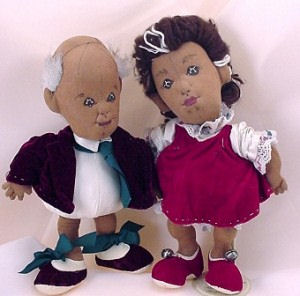 Jingles and Belle Cloth Doll Pattern