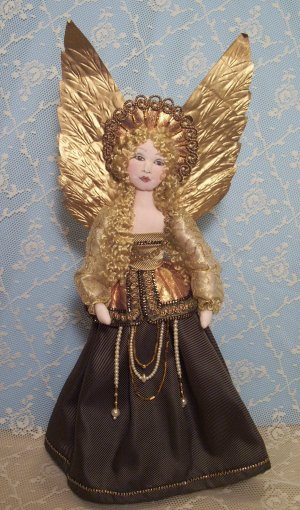 Renaissance Angel Doll Making Cloth Sewing Pattern