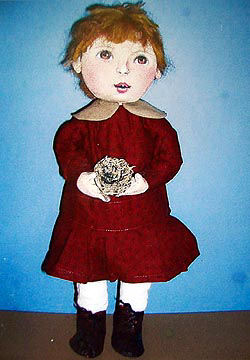Alice With Nest Cloth Child Doll Sewing Pattern