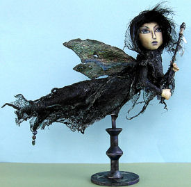 Banshee - Witch Cloth Doll Pattern