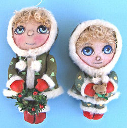 Winter Girls - Cloth Doll Sewing Patterns