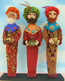 Wise Men Craft and Sewing Project - Cloth Doll Patterns