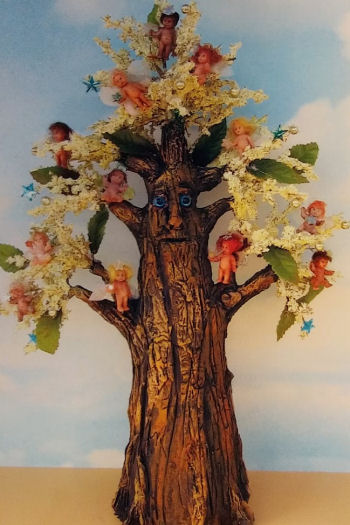 Fairy Tree Cloth Doll Pattern Sewing Project