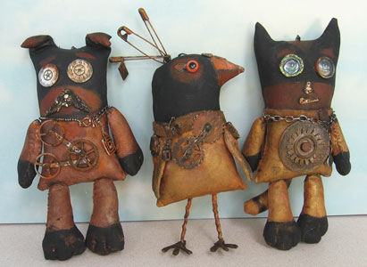 Steampunk Buddies Sewing Patterns
