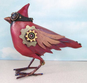 Cardinal - Art Doll Instructions