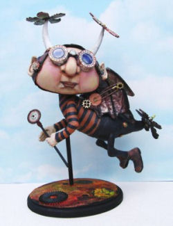 Steampunk Finnyus -  - Doll Making Pattern and Instructions