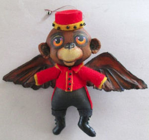 Flying Monkey  - Doll Making Pattern and Instructions