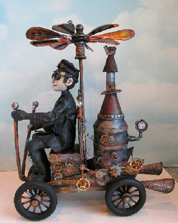 Steampunk Wenzel CD - Dollmaking Class by Susan Barmore