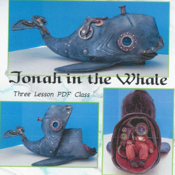 Jonah in the Whale CD  Cloth Doll Making Class by Susan Barmore