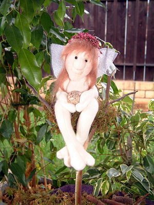 "Darling 7"" Sprite Faerie. Cloth Doll Making Sewing Pattern"