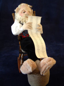 Santa CLoth Doll Pattern by Shelley Hawkey