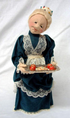 Mrs. Santa CLoth Doll Pattern by Shelley Hawkey