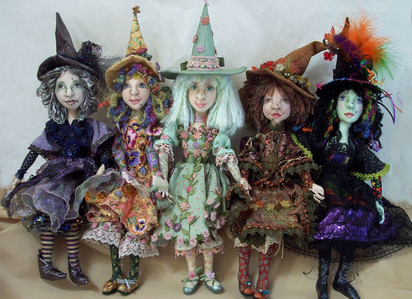 Year of the Witch CD - Cloth Art Doll Pattern