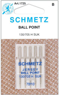 Schmetz Jersey/Ball Point Needle 70/10