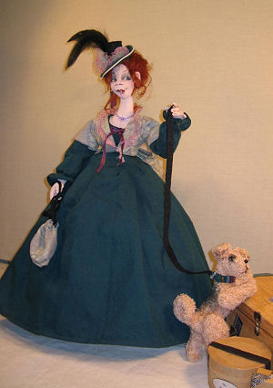Cloth Doll Making Sewing Pattern.