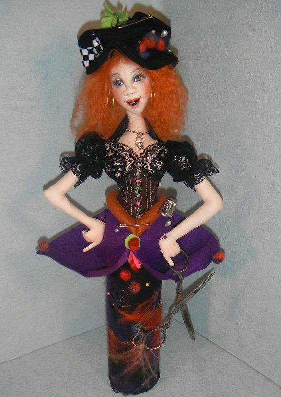 TWEEDLEDUM /& TWEEDLEDEE~Sharon Mitchell *BRAND NEW* cloth art doll pattern