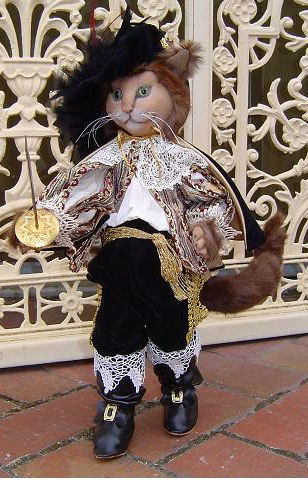 "*NEW* CLOTH ART DOLL PATTERN /""OBERON/"" BY SUZETTE RUGOLO PAPER"