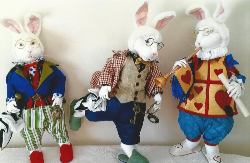 Cloth Doll and Animal Making Sewing Patterns by Suzette Rugolo