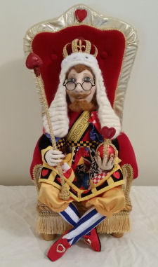 King of Hearts by Suzette Rugolo - Cloth Doll Pattern