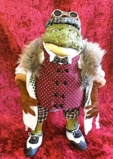Toad of Toad Hall Cloth Doll Patterns.