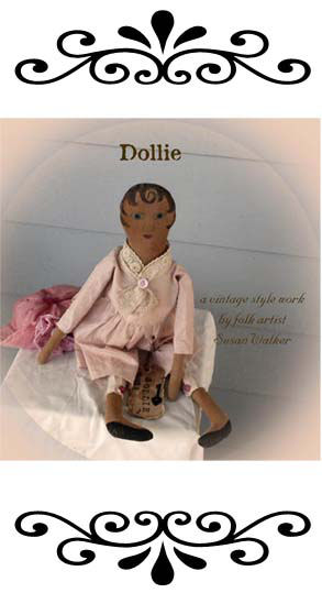 "You'll have fun painting the body of this sweet 19"" vintage style doll. A fragrant sachet can be inserted in her body."