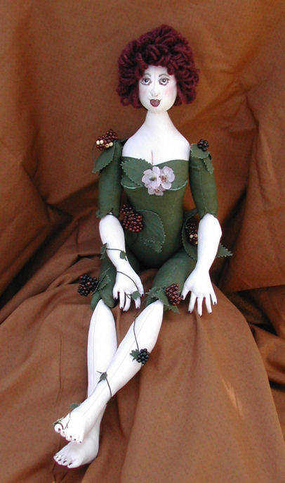 "22"" woodland nymp cloth doll pattern"