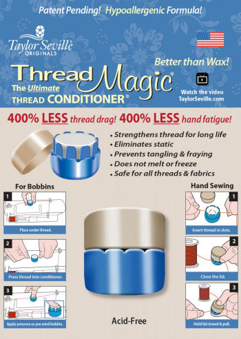 Sewing Thread Magic - The Ultimate Thread Conditioner