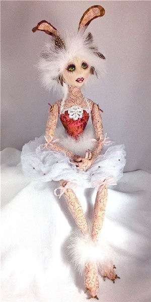 Lilly – A Fantasy Rabbit CD - Cloth Art Doll Pattern