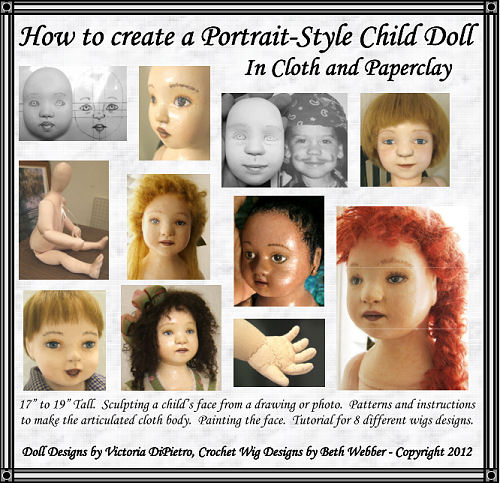 How to Create a Portrait-Style Child Doll in Cloth & Paperclay CD