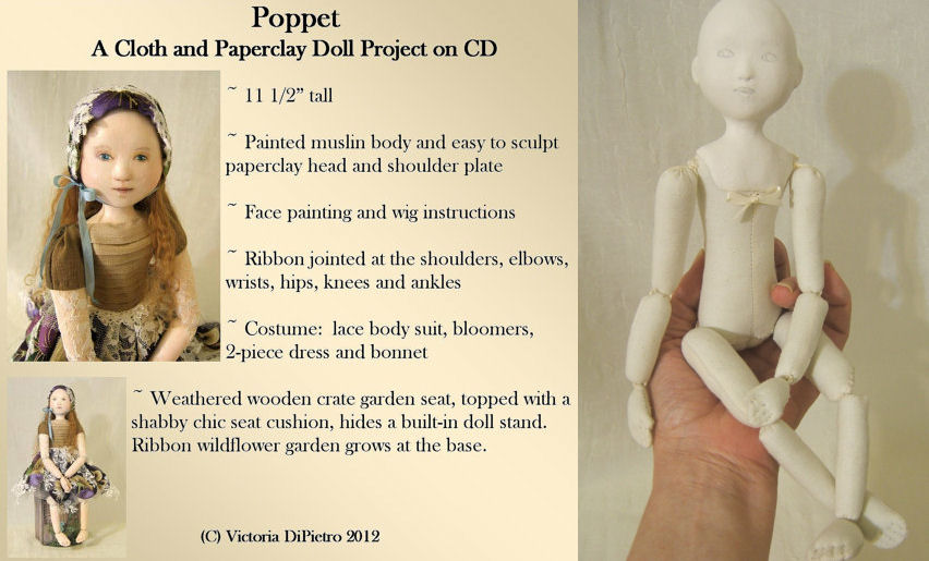 Cloth Doll Patterns by Victoria DiPietro