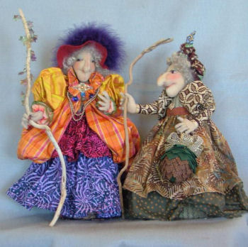 Desert Crone Cloth Doll Sewing Pattern