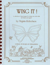 Wing It - Instructinos on making wings for dolls - Book