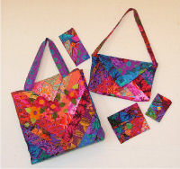 Sewing Pattern for Big Bag & Accessories