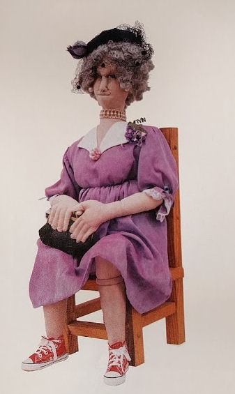 Aunt Cora - Cloth Doll Making Sewing Pattern by Virgina Robertson