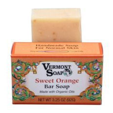 Sweet Orange - Bar Soap from Vermont Soap