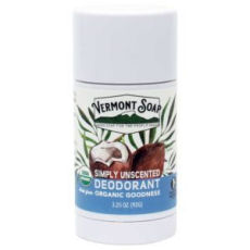 Simply Unscented Organic Deodorant