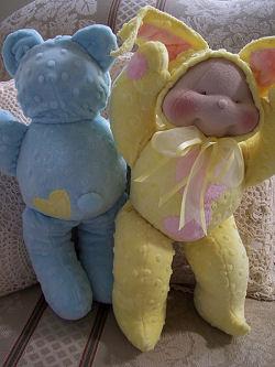 בובות תינוק  מגרבי ניילון