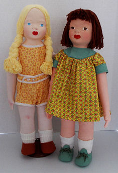 WPA Dolls and Book by Judi Ward