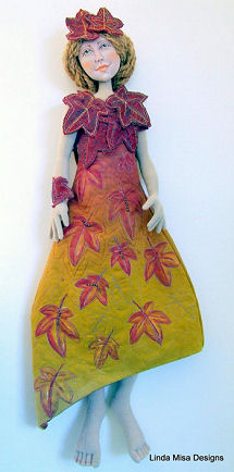Bella - Cloth and Clay doll by Linda Misa - Pattern for Doll Makers