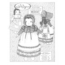Cloth Doll Patterns by Colette Wolff - Soft Dolls Historic
