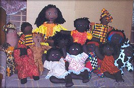 Cloth Doll Charity Projects
