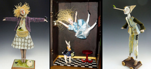 October Morn, Down the Rabbit Hole, Pinocchio PDF Classes by Cindee Moye
