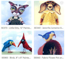 10 Animal Designs by Susan Barmore!