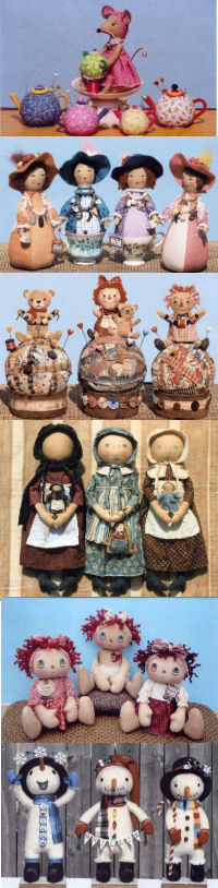 Ginny Lettorale Cloth Doll Making Patterns