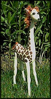 Germaine the Giraffe Free Soft/Plush Animal Doll Pattern.