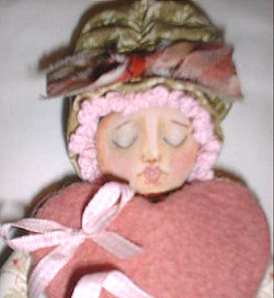 Goddess of LOVE - Free Cloth Doll Pattern by Sherry Goshon