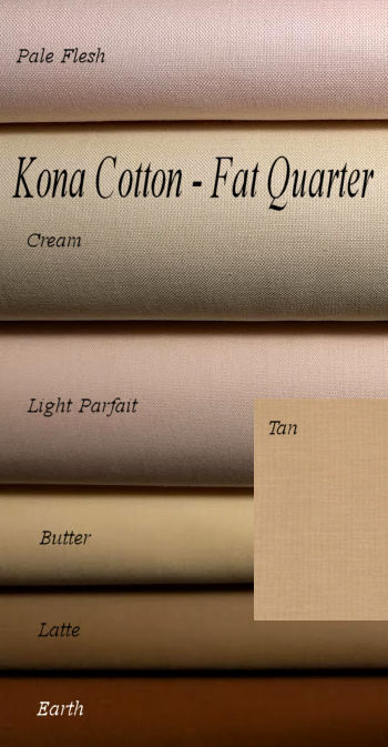Kona Cotton - Fat Quarters