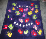 Hands of Love Blanket by Mary Ann & Ana Ka'ahanui