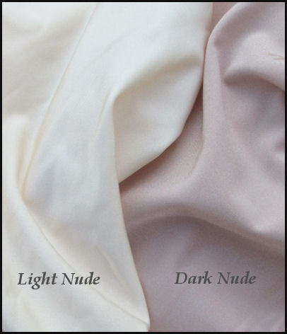 Nylon/Lycra - Light Nude & Dark Nude
